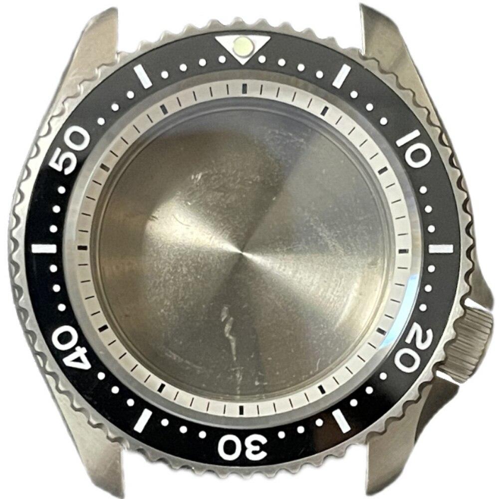 Heimdallr Watch Parts SKX007 Titanium Material Watch Case Sapphire Ceramic Bezel Diver Watch Modify Parts Fit NH35/36 Movement enlarge