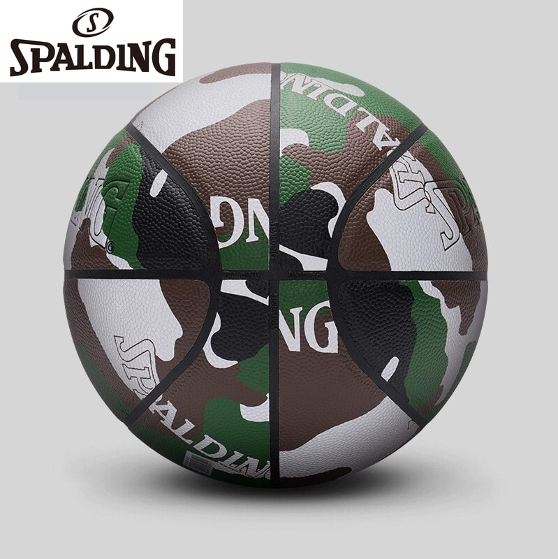 SPALDING Professional Basketball Outdoor Sports Professional PU7 Men and Women Rubber Indoor and Outdoor Training Basketball