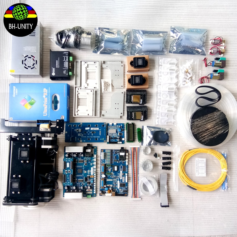 large printer upgrade board kit convert to xp600 printhead kit eco solvent printer