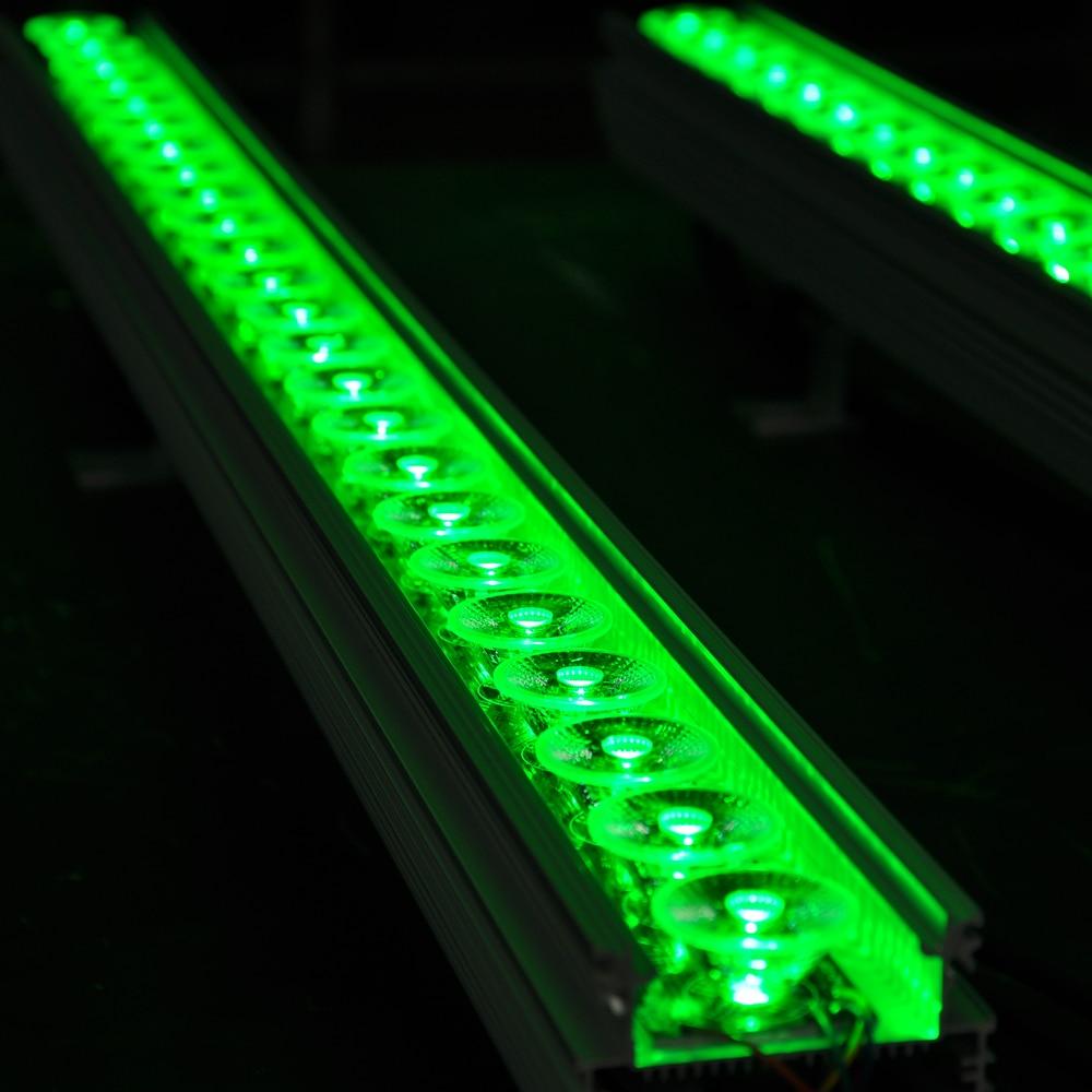 TIPTOP 12XLOT Outdoor LED Wall Washer Light RGB 3In1 Energy Saving Led Garden Lighting Taiwan Leds 24x3W Real Power 90V-240V