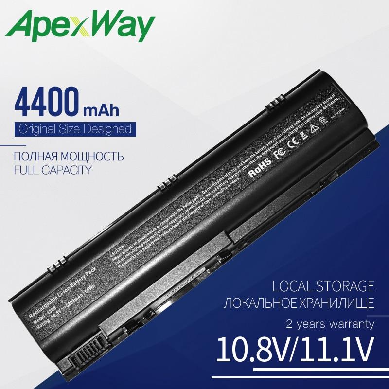 6 células negro batería para Dell Inspiron 1300 B120 B130 latitud 120L HD438 TD611 TD612 UD535 312-0416 KD186 XD184 XD187 0XD184