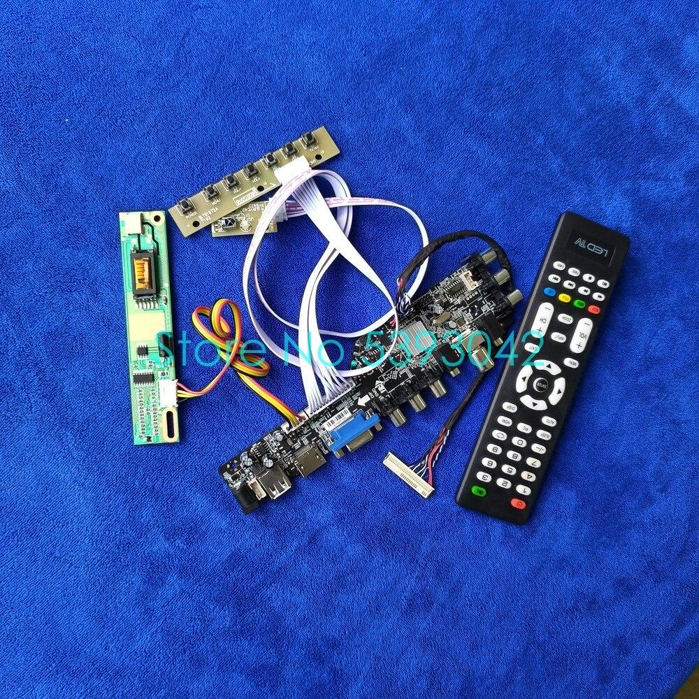 صالح LTN156AT01-H01/W01/S01/S02/S03/T01/V01 1366*768 AV USB الرقمية 3663 1CCFL DVB-C 30Pin LVDS عرض المراقب المجلس كيت