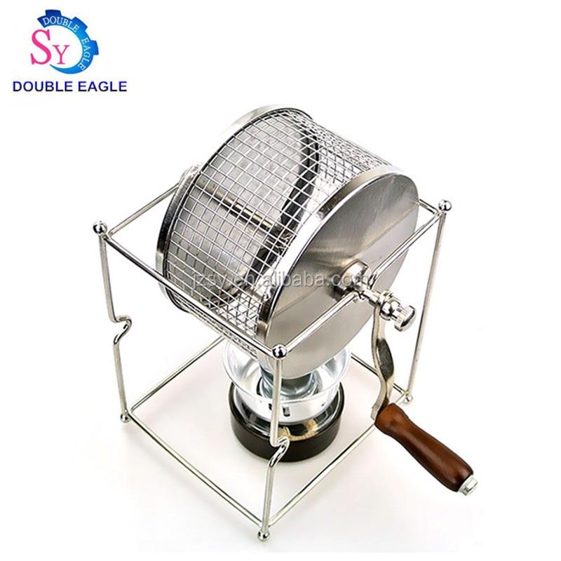 المنزلية الصغيرة حبوب البن الخبز آلة البسيطة كرنك اليد حبوب البن المحمصة للمنزل