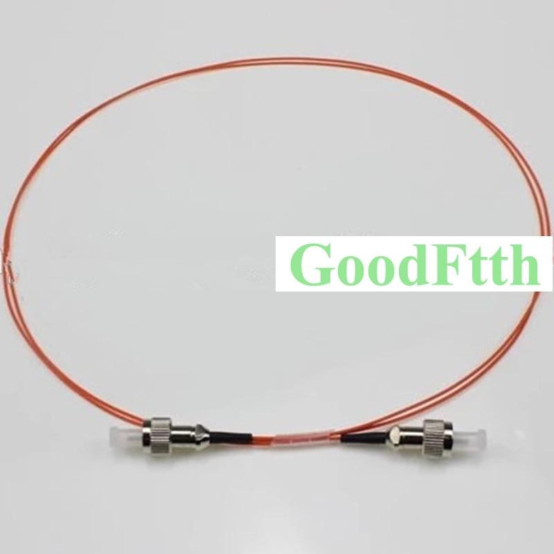 التصحيح الحبل الطائر FC-FC المتعدد 50/125 OM2 البسيط 0.9 مللي متر GoodFtth 0.5-3m 10 قطعة/الوحدة
