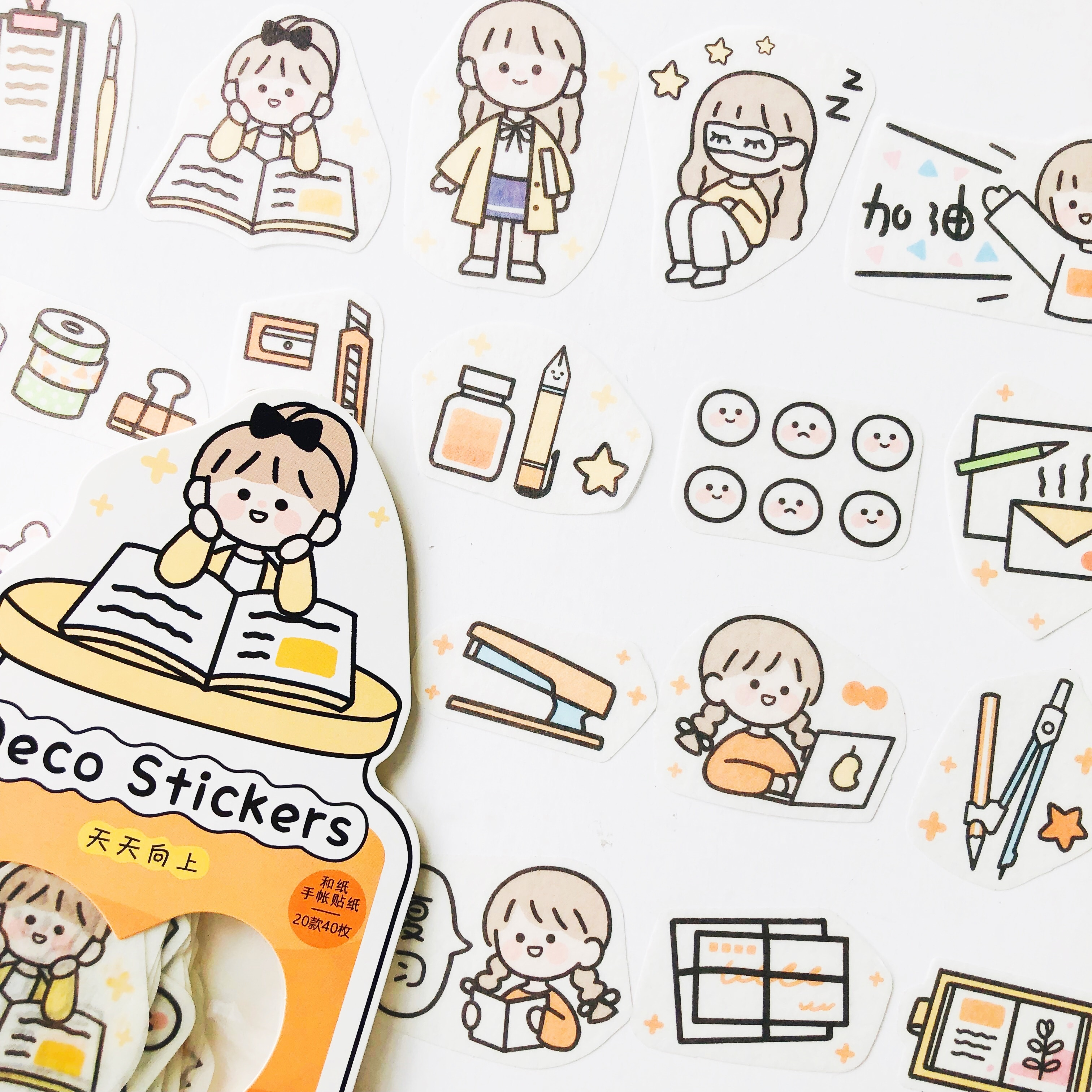 1-pack-40-pcs-adesivi-della-ragazza-studio-vita-note-di-carta-notebook-diario-adesivi-adesivo-decorativo
