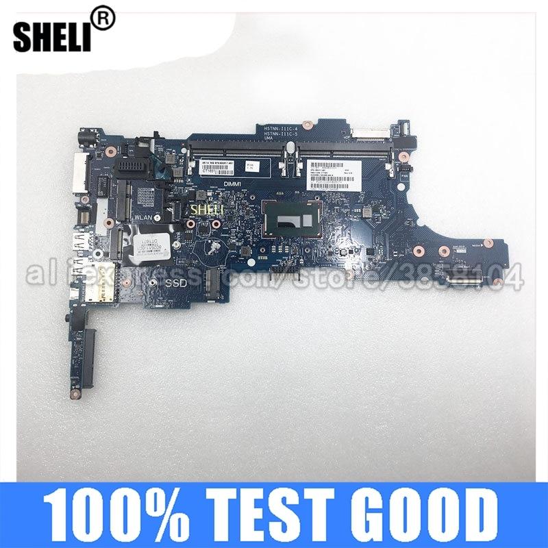 SHELI ل HP 802511-001 802511-501 802511-601 اللوحة الرئيسية ELITEBOOK 840 G1 اللوحة الأم للكمبيوتر المحمول I5-4300U CPU 6050A2560201-MB-A03