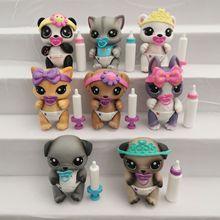 Original Many jo cute toys Lovely Pet shop animal Pet Cute little bear pet action figure littlest lol doll gift girl toy