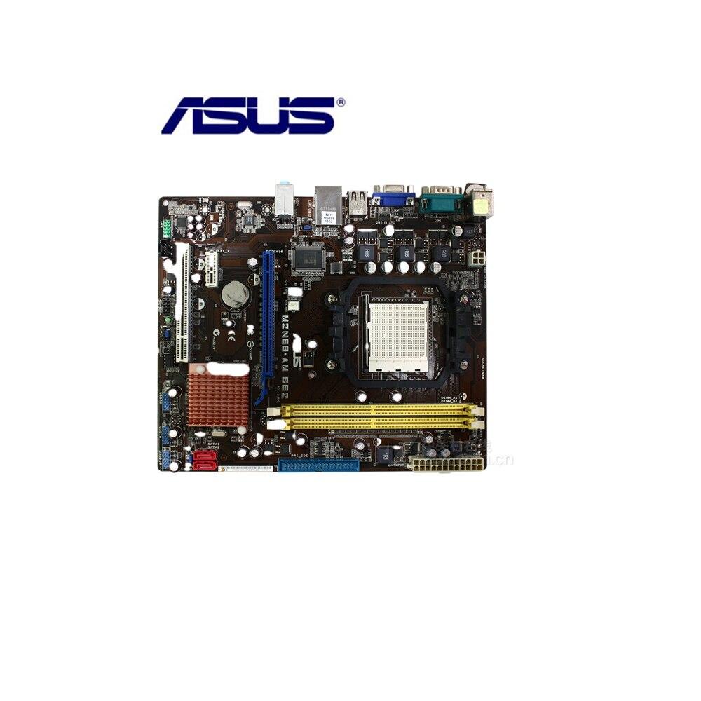 ASUS M2N68-AM SE2 настольная материнская плата 7025 630a розетка AM2 AM2 + для Athlon 64 64 X2 64 FX Sempron DDR2 4G б/у