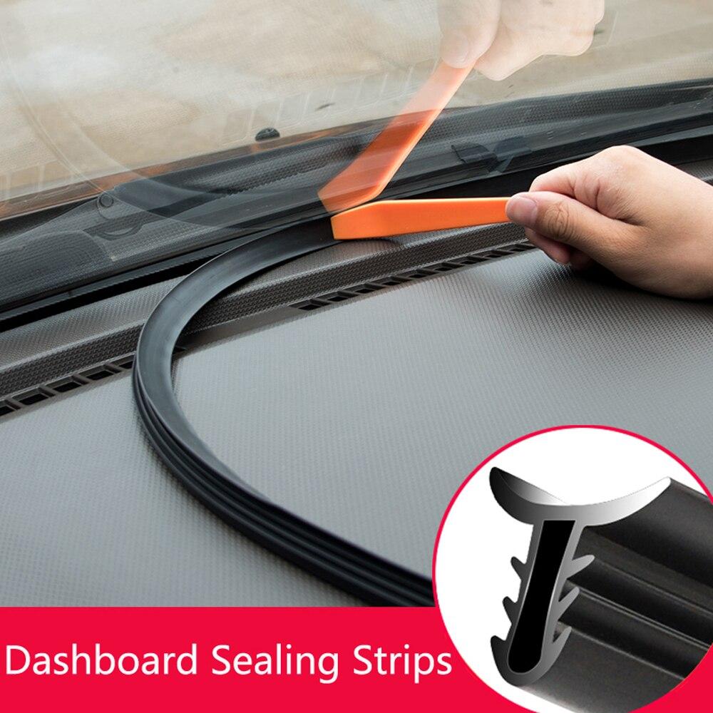1.6m adesivos de carro dashboard tiras vedação auto interior do carro estilo adesivo acessórios do carro à prova de som