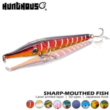 Hunthouse stickbait карандаш жесткая приманка для рыбалки topwater плавающая приманка 146 мм 19 г Тонущий Карандаш 146 мм 35 г для морского окуня воблер