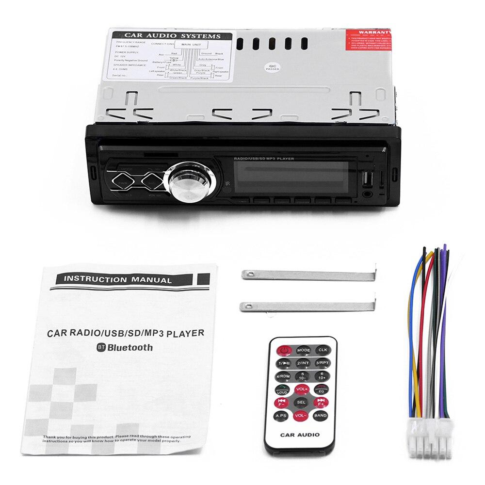 Radio de coche Vintage Universal Bluetooth 1788 estéreo USB AUX U disco clásico coche camión estéreo Audio automóvil reproductor mp3