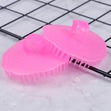 1pcs Silicone Head Body Massager Shampoo Scalp Massage Brush Hair Washing Comb Body Shower Brush Bat