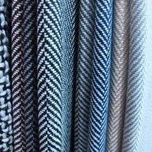 Herringbone fabric, woollen fabric wholesale (310g/㎡)(20% wool +80% chemical fiber)  width150cm