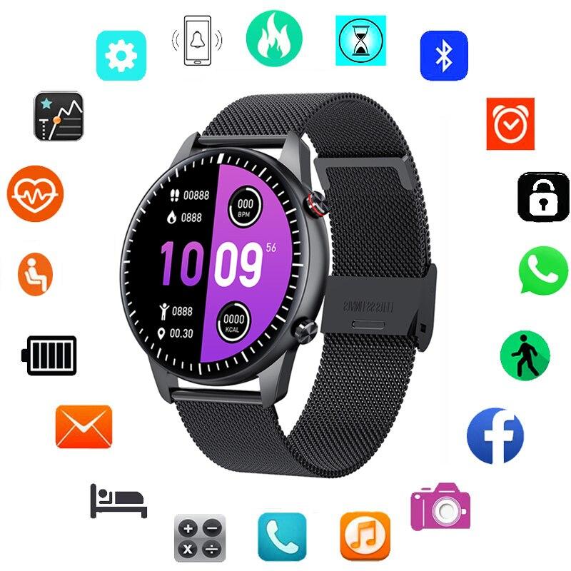 2021 Bluetooth Call Smart Watch Men Women Music Watches Fitness Bracelet Heart Rate Monitor Smartwat