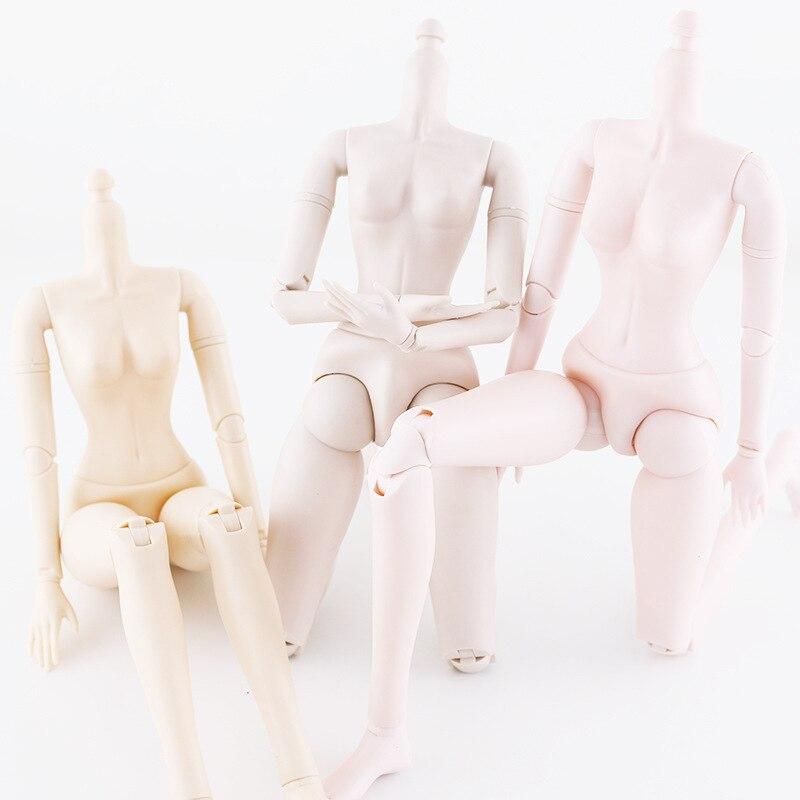 1/3 60 Cm Bjd Poppen Naakt Body Poppen Accessoires 21 Bal Jointed Diy Dress Up Make Up Schattige Baby Poppen lichaamsdeel Voor Meisjes Geschenken