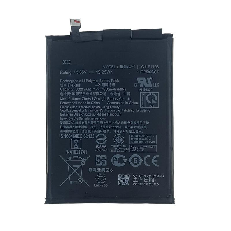 ZB602KL 5000mAh C11P1706 batería para Asus Zenfone Max Pro M1 ZB602KL X00TDB X00TDE teléfono nuevo 6,0 pulgadas