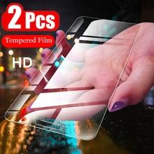 2 Stuks Hd Gehard Glas Voor Lg Q60 Q70 Q6 Q7 Q8 Q9 Screen Protector Film Voor Lg G6 G7 k50 K8 K10 2017 2018 Beschermende Glazen Case