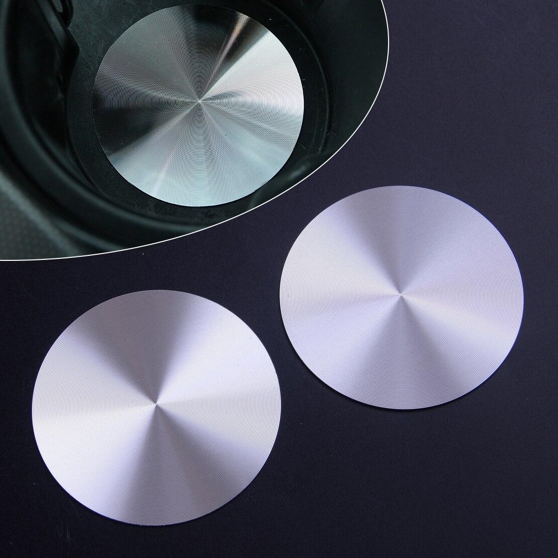 Beler 2 uds aleación de aluminio Interior copa de agua ranura para...