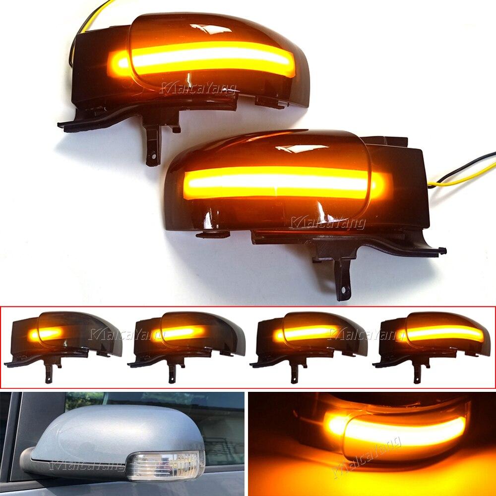 2xLED ديناميكية بدوره إشارة الوامض الجانب متتابعة مرآة الرؤية الخلفية مؤشر ضوء لشركة فولكس فاجن توران 1T1/1T2 2003 2004 2005-2009