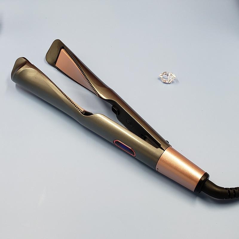 curling iron twist straightener hair straightener flat iron for hair style 2 in 1