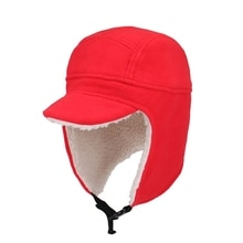 Bomber Hat With Soft Brim Women Men Thick Windproof Adjustable Folding Thermal Winter Warm Cap Outdo