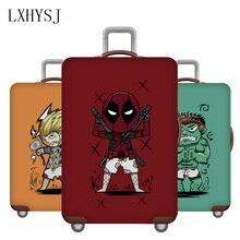 Voyage épaissir la couverture de bagage élasticité valise housse de protection pour 18-32 pouces boîtier de chariot couverture de poussière accessoires de voyage