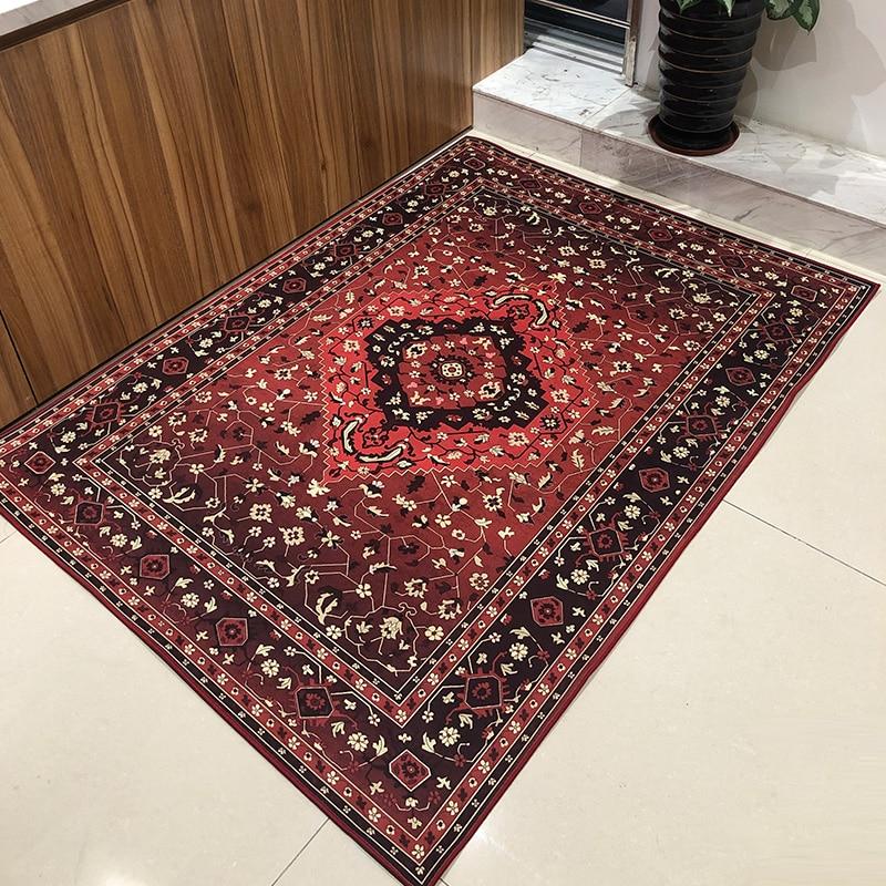 عالية الجودة تركيا السجاد ل غرفة المعيشة المنزلي كبير البساط مستطيل المطبوعة الفارسي السجاد صالون ديكور كبير السجاد 120*160 سنتيمتر