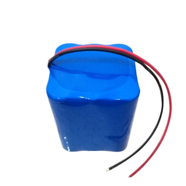 Batería de iones de litio recargable 3S3P 18650 12V 6600mAh 18650 batería de litio paquete 6AH con cargador