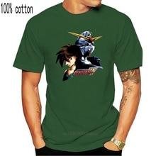 Gundam aile Heero et Gundam adulte T-Shirt Streetwear drôle T-Shirt
