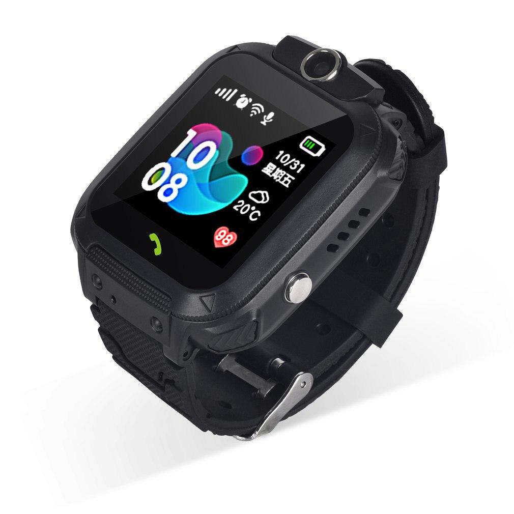Reloj de teléfono para niños S12 con GPS para estudiantes, reloj inteligente multifuncional, creativo, reloj de teléfono para niños