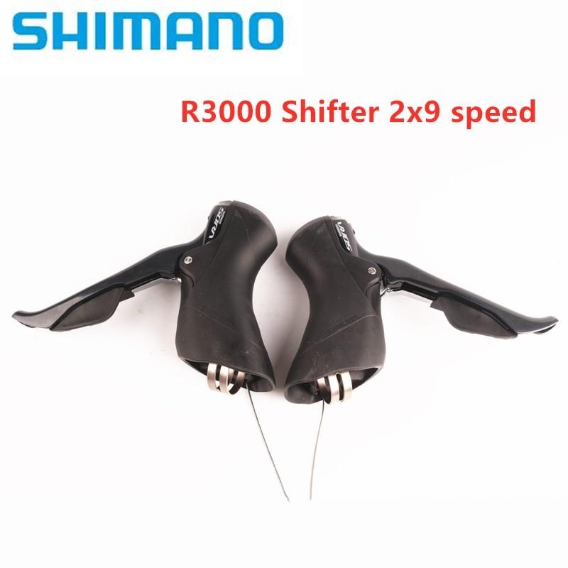 SHIMANO SORA R3000 2x9 R3030 3X9 рычаг переключения скоростей, двойной рычаг управления, дорожный велосипед, велосипед для переднего переключателя, задни...
