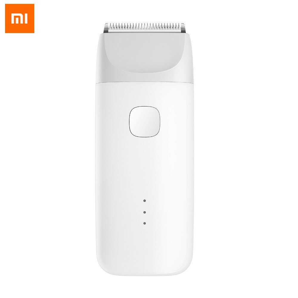 Cortadora de pelo MI Mijia MiTu, afeitadora recargable por USB, IPX7 segura y silenciosa, cortadora de pelo eléctrica resistente al agua para niños, cortadora de peluquero para bebés