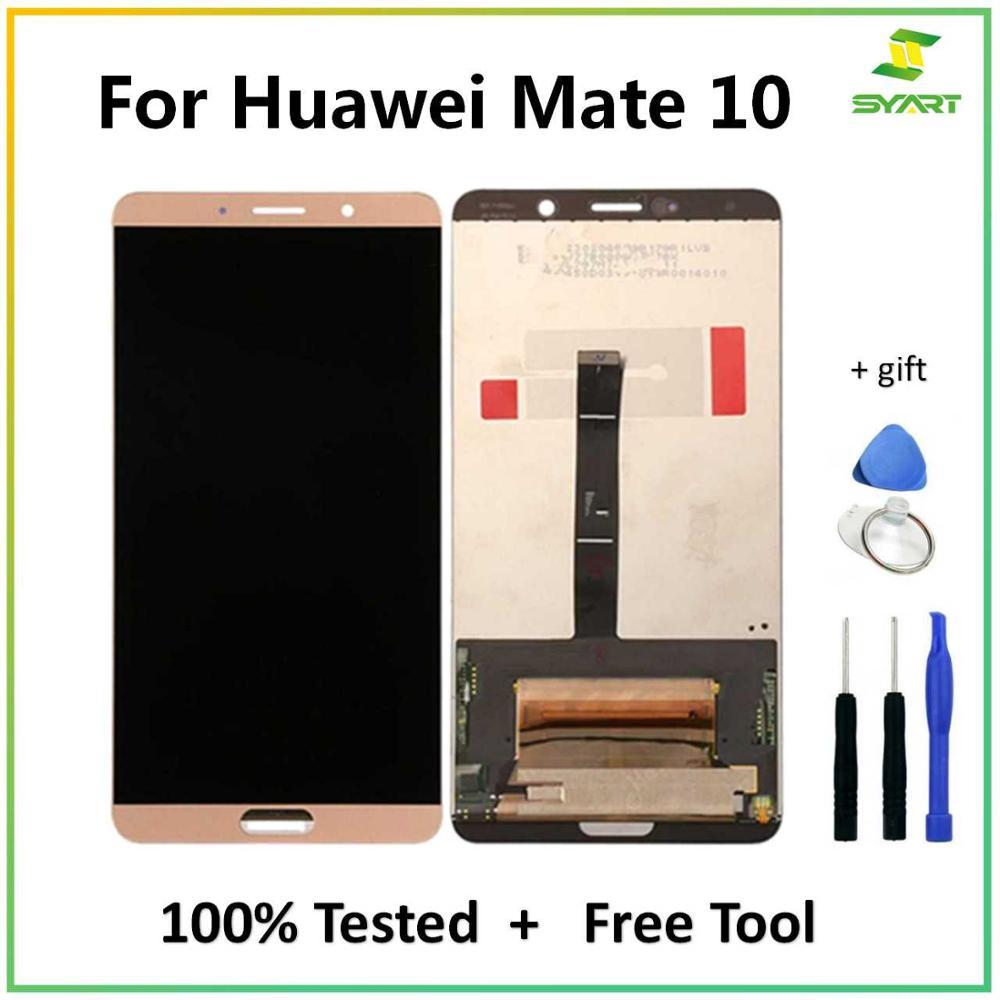 Lcd para huawei companheiro 10 display lcd tela de toque digitador assembléia substituição para ALP-L09 ALP-L29 ALP-TL00 lcd 5.9 polegada painel