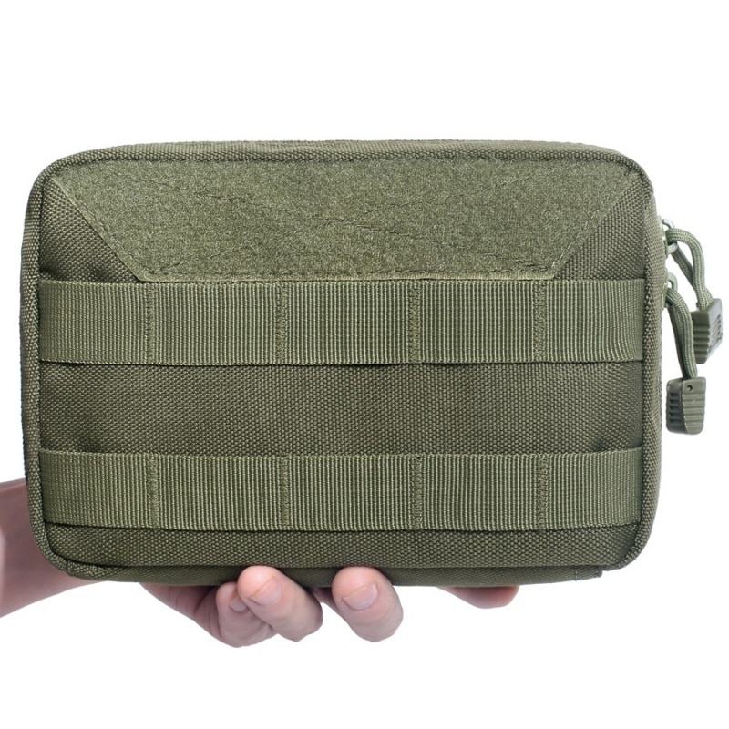 Military Tactical Molle Admin Map Pouch Utility Medical Kit EDC Tool Bag Outdoor Camping Hiking Hunting Accessories Waist Pack admin