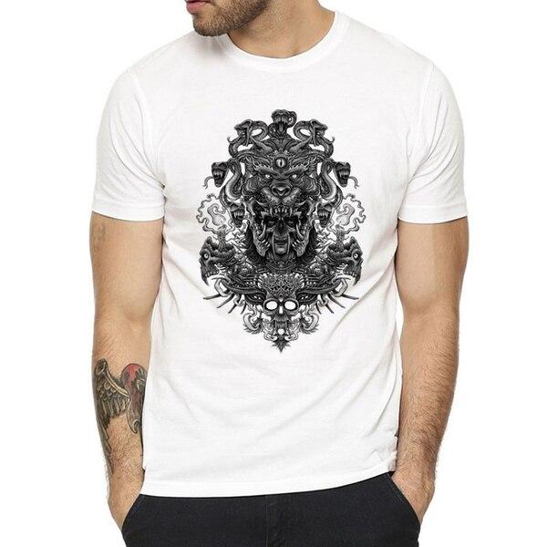 Мужская модная короткая футболка с принтом забавная футболка мужские топы женские мужские футболки крутые Модные топы футболки с коротким ...