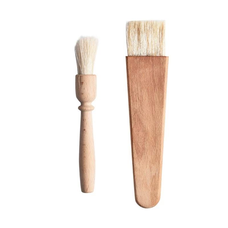 Оригинальный Пособия по немецкому языку буковая древесина Кухня кисточка для
