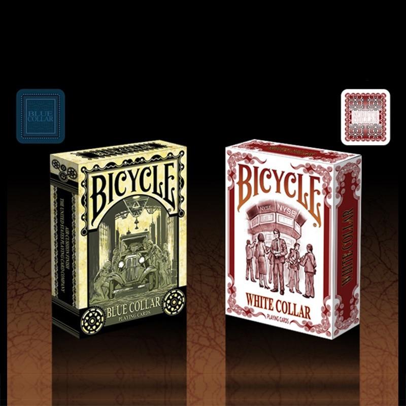 Hui qi Poker bicicleta blanco azul Collar blanco cuello azul colección de tarjetas de juego de bicicleta