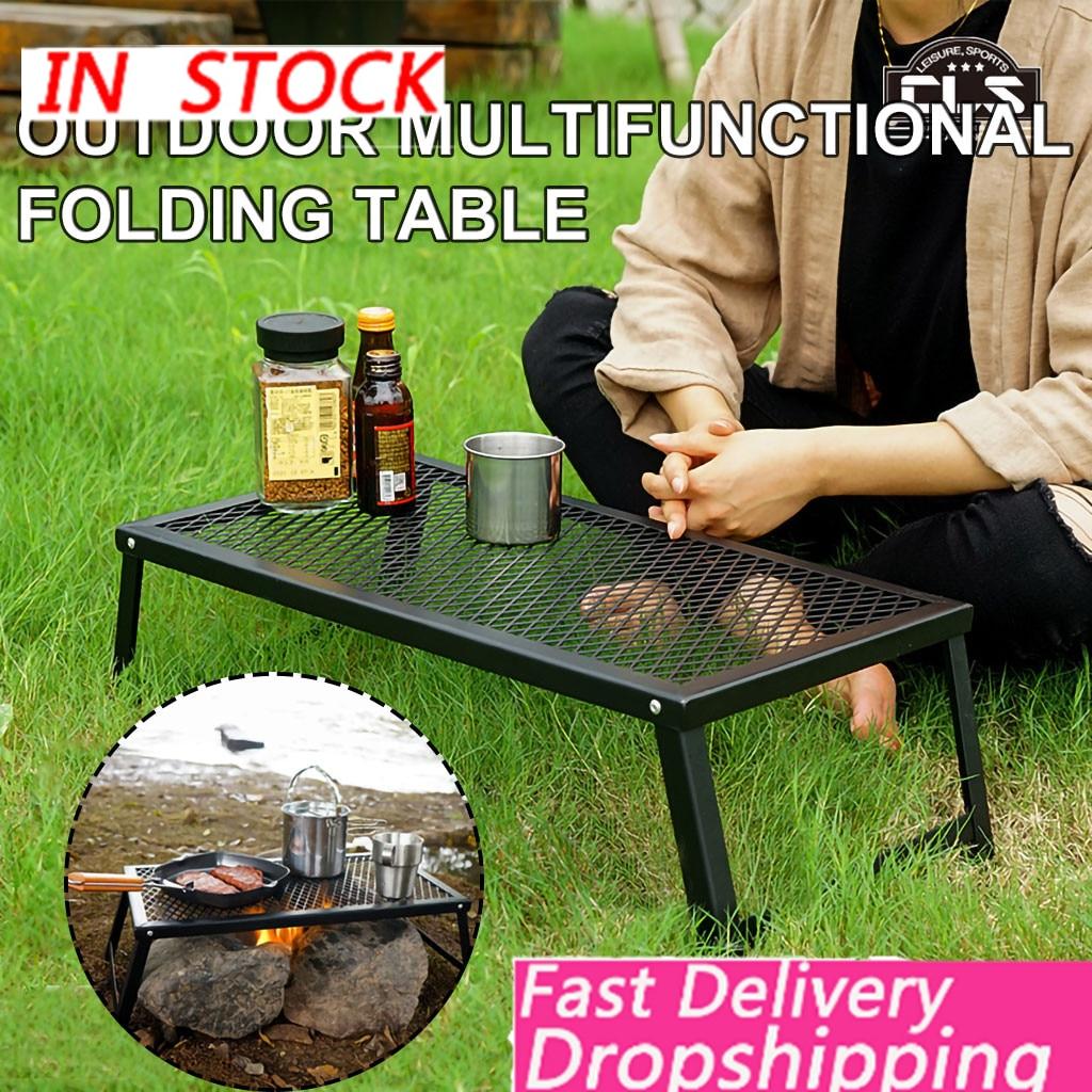 Mesa de Camping plegable ultraligera para exteriores, mesa de barbacoa portátil impermeable, mesa de mesa ocasional, mesa de Camping, escritorio