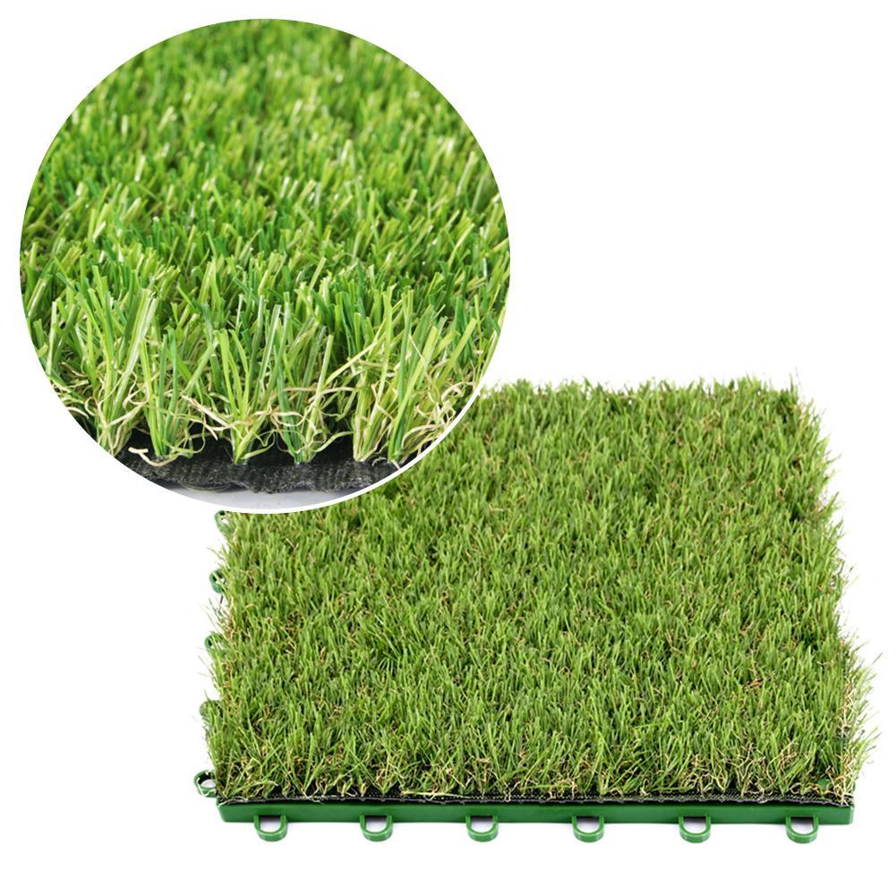 Alfombra de césped Artificial, alfombra de césped sintético resistente a la intemperie, Alfombra de césped, alfombra de césped DIY, Micro paisaje Deco, suministros de fiesta de jardín