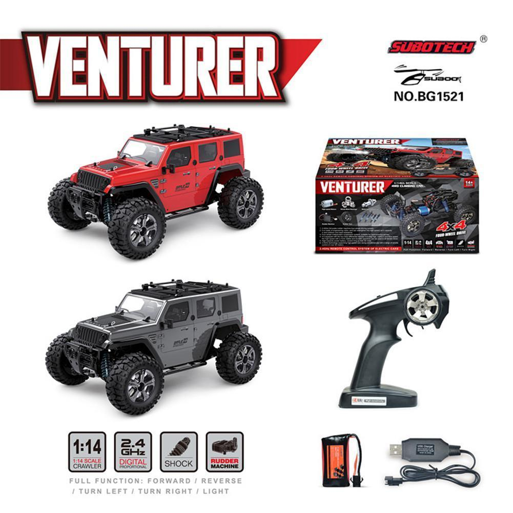 RCtown Subotech BG1521 Golory 1/14 2.4G RC Car 4WD 22km/h climbing Proportional Control RC Buggy Off-Road Vehicle Toy    XYW0401 enlarge