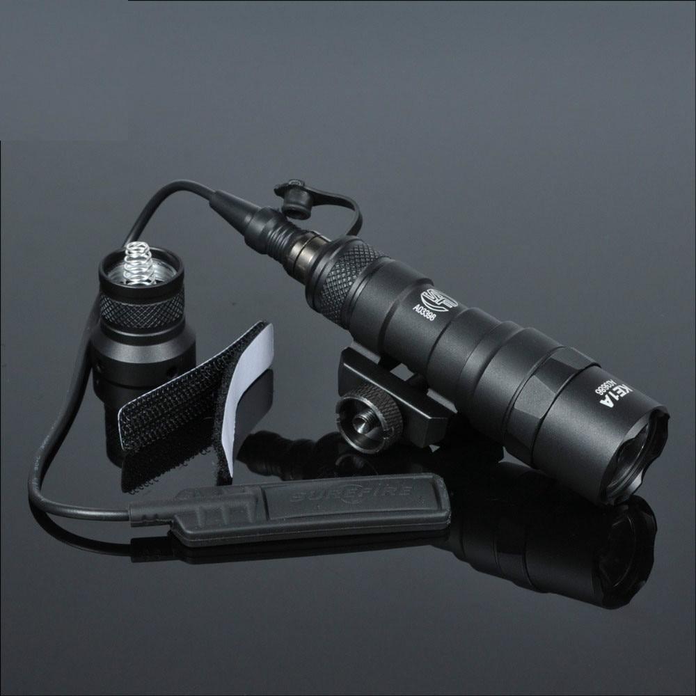 Táctica M300 M300B MINI arma luz exterior Rifle caza linterna alto Lumen táctico 20mm Rail LED luces Airsoft Elemen