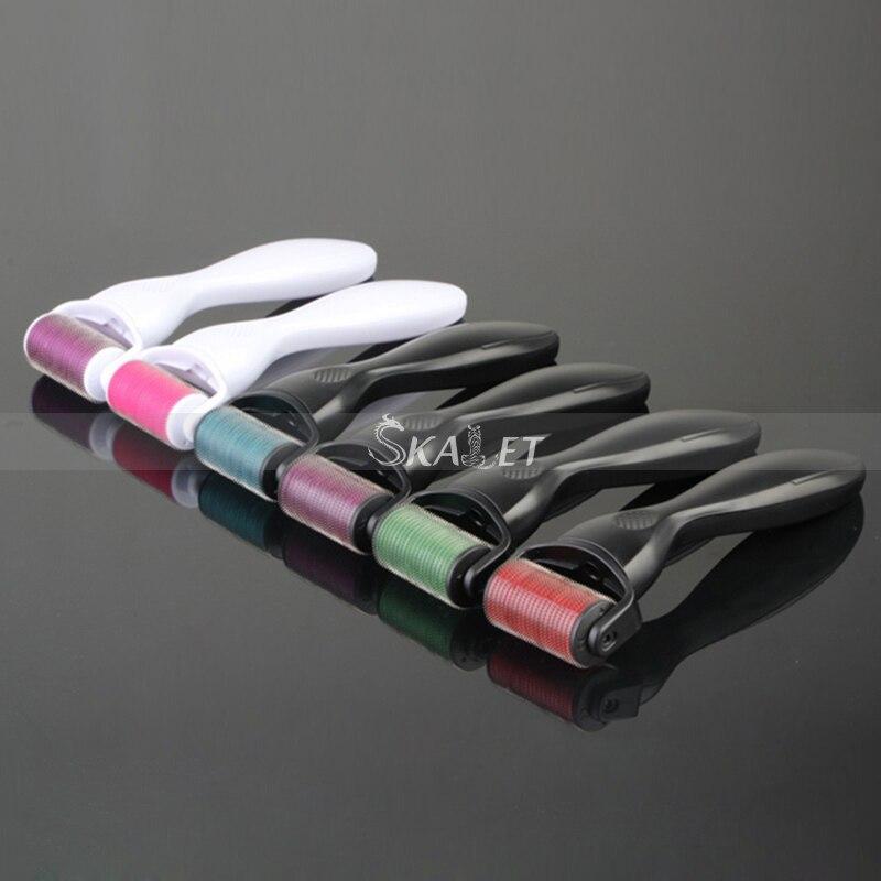 Professional Skin Care DPS540 0.2/0.25/0.3mm Titanium Microneedle Derma Roller Beauty Massage Tool
