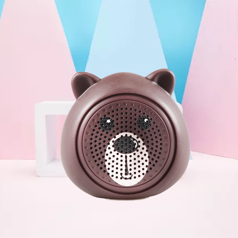 Portable Mini Wireless Bluetooth Speaker Bluetooth 4.2 Animal Cat Shape Speakers Support Handfree TF Card Play with LED Light enlarge