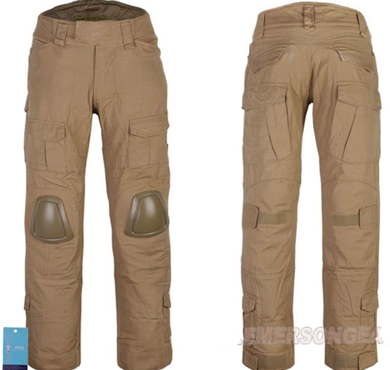 Pantalones tácticos para hombre, pantalones de combate EmersonGear Gen 2, pantalones militares Emerson, pantalones de carga con rodilleras