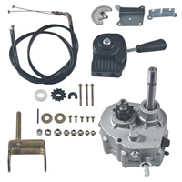 go kart forward reverse gear box 10t go karts accessories tav2 30 for 2hp 7hp engine 3 shift modes transmission local honor