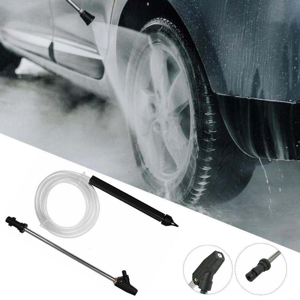 Tubo de chorro de arena portátil, herramientas automotrices, chorro de agua de alta presión, pistola de pulverización de chorro de arena para serie Karcher K