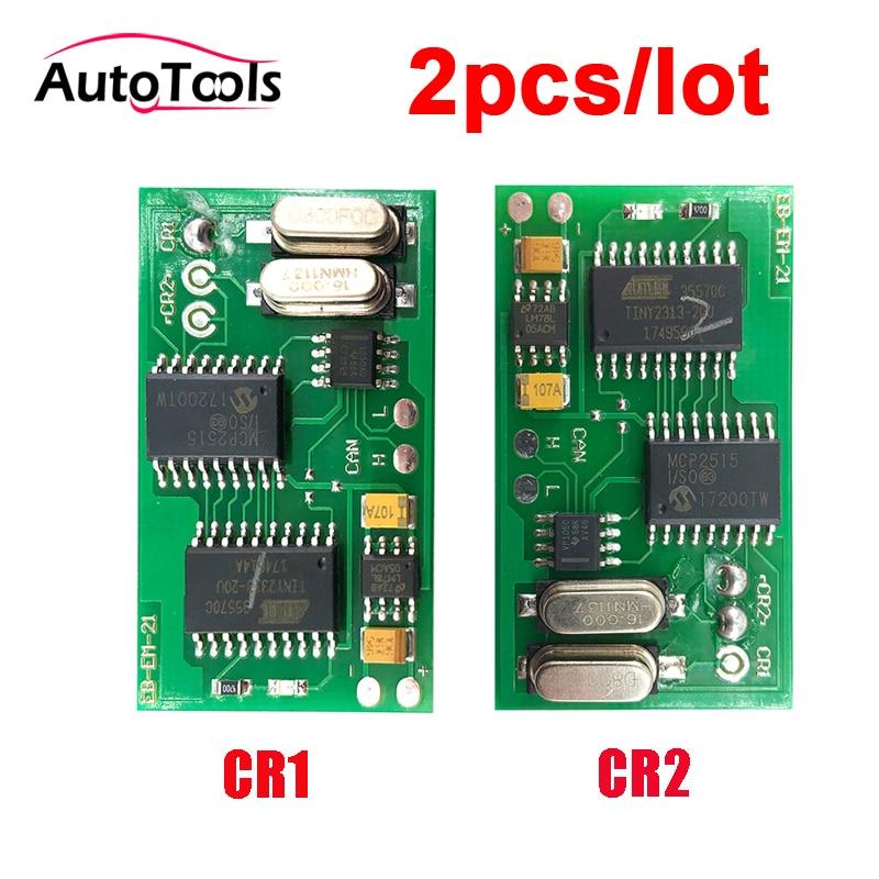 2pcs/lot CR1/CR2 auto car immo emulator MB car diagnostic-tool Immobilizer Emulate