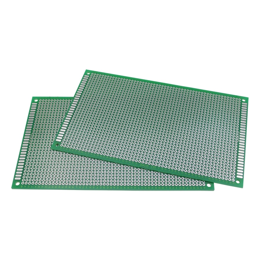 5pcs/lot 9x15cm Double Side Printed Circuit Prototype Board 9*15cm Universal PCB Copper Plate 2.54mm Electronic Soldering Board