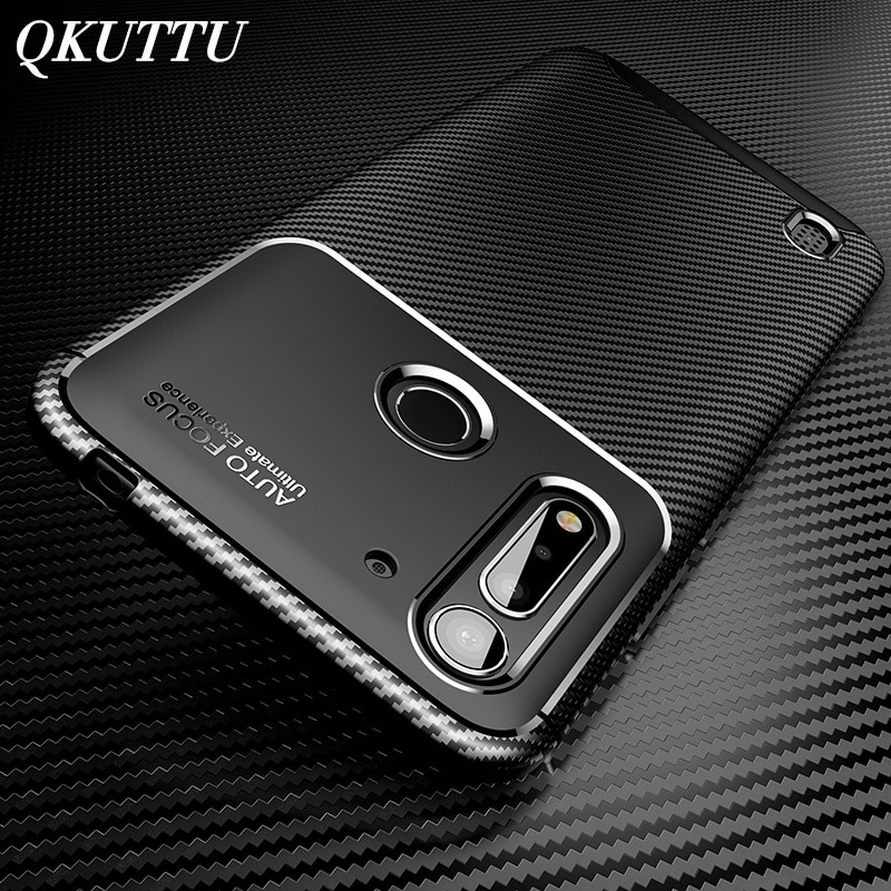 New Phone Case for Motorola Moto G8 Power Lite Carbon Fiber Soft Silicone Back Cover for Moto G8 Plus G Styus One Macro Cases