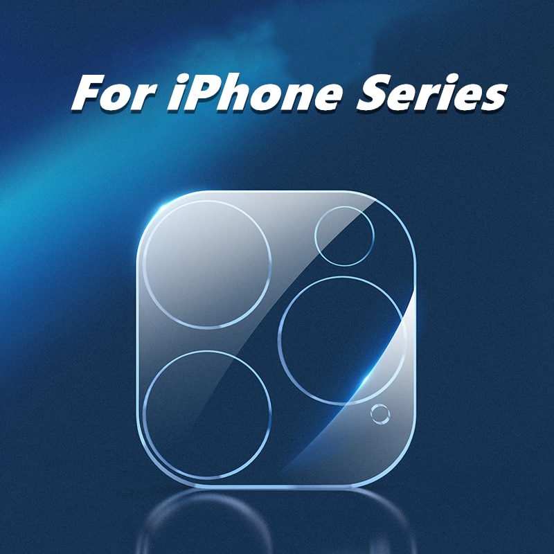 For iPhone 13 12 11 Pro Max Glass Camera Protector Lens Protective Film for iPhoneX 8 7 Plus 1/2/5 P